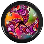 Cool_Fractal-818879 Wall Clock (Black)