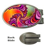 Cool_Fractal-818879 Money Clip (Oval)