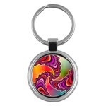 Cool_Fractal-818879 Key Chain (Round)