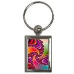 Cool_Fractal-818879 Key Chain (Rectangle)