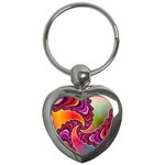 Cool_Fractal-818879 Key Chain (Heart)