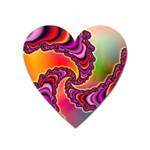 Cool_Fractal-818879 Magnet (Heart)
