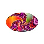 Cool_Fractal-818879 Sticker Oval (100 pack)