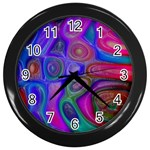 space-colors-2-988212 Wall Clock (Black)