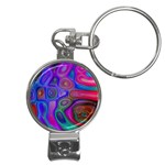 space-colors-2-988212 Nail Clippers Key Chain