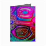 space-colors-2-988212 Mini Greeting Cards (Pkg of 8)