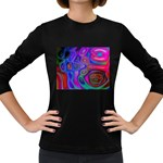 space-colors-2-988212 Women s Long Sleeve Dark T-Shirt