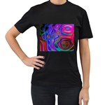 space-colors-2-988212 Women s Black T-Shirt