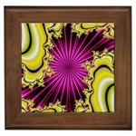 sonic_yellow_wallpaper-120357 Framed Tile
