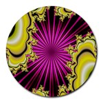 sonic_yellow_wallpaper-120357 Round Mousepad