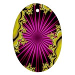 sonic_yellow_wallpaper-120357 Ornament (Oval)