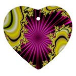 sonic_yellow_wallpaper-120357 Ornament (Heart)