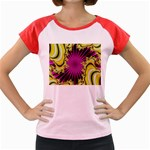 sonic_yellow_wallpaper-120357 Women s Cap Sleeve T-Shirt