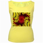 sonic_yellow_wallpaper-120357 Women s Yellow Tank Top