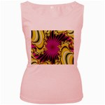 sonic_yellow_wallpaper-120357 Women s Pink Tank Top