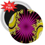 sonic_yellow_wallpaper-120357 3  Magnet (10 pack)