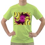 sonic_yellow_wallpaper-120357 Green T-Shirt