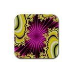 sonic_yellow_wallpaper-120357 Rubber Coaster (Square)