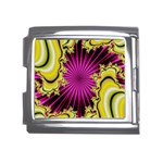 sonic_yellow_wallpaper-120357 Mega Link Italian Charm (18mm)