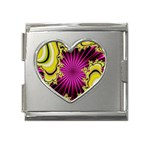 sonic_yellow_wallpaper-120357 Mega Link Heart Italian Charm (18mm)