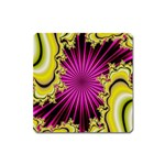 sonic_yellow_wallpaper-120357 Magnet (Square)