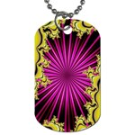 sonic_yellow_wallpaper-120357 Dog Tag (Two Sides)