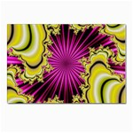 sonic_yellow_wallpaper-120357 Postcards 5  x 7  (Pkg of 10)