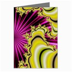 sonic_yellow_wallpaper-120357 Greeting Card