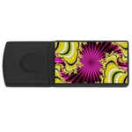 sonic_yellow_wallpaper-120357 USB Flash Drive Rectangular (2 GB)