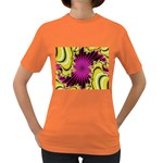 sonic_yellow_wallpaper-120357 Women s Dark T-Shirt