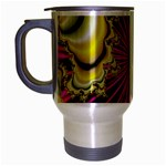 sonic_yellow_wallpaper-120357 Travel Mug (Silver Gray)