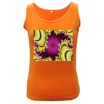 sonic_yellow_wallpaper-120357 Women s Dark Tank Top