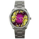 sonic_yellow_wallpaper-120357 Sport Metal Watch