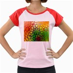 Alternative%20Flower-346872 Women s Cap Sleeve T-Shirt