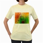 Alternative%20Flower-346872 Women s Yellow T-Shirt