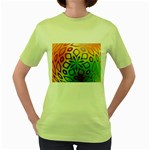 Alternative%20Flower-346872 Women s Green T-Shirt