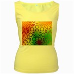 Alternative%20Flower-346872 Women s Yellow Tank Top