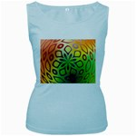 Alternative%20Flower-346872 Women s Baby Blue Tank Top
