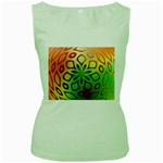 Alternative%20Flower-346872 Women s Green Tank Top