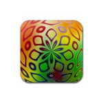 Alternative%20Flower-346872 Rubber Coaster (Square)