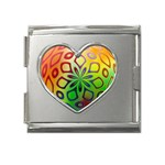 Alternative%20Flower-346872 Mega Link Heart Italian Charm (18mm)