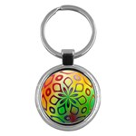 Alternative%20Flower-346872 Key Chain (Round)