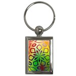 Alternative%20Flower-346872 Key Chain (Rectangle)