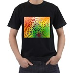 Alternative%20Flower-346872 Black T-Shirt (Two Sides)