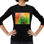 Alternative%20Flower-346872 Women s Long Sleeve Dark T-Shirt