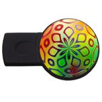 Alternative%20Flower-346872 USB Flash Drive Round (4 GB)