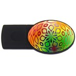 Alternative%20Flower-346872 USB Flash Drive Oval (4 GB)
