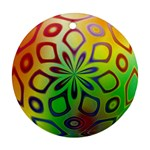 Alternative%20Flower-346872 Round Ornament (Two Sides)