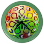 Alternative%20Flower-346872 Color Wall Clock