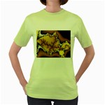 tabula_wallpaper-145984 Women s Green T-Shirt
